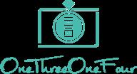 onethreeonefour logo